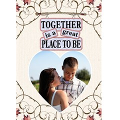 Together Card By Lil    Greeting Card 5  X 7    Up52ypfqfev6   Www Artscow Com Front Cover