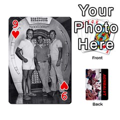 Vegas Cards By Carol Petrich   Playing Cards 54 Designs   20jn9at7yv33   Www Artscow Com Front - Heart9