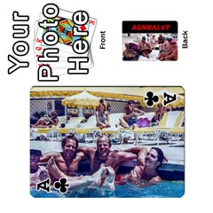 Ace Vegas Cards By Carol Petrich   Playing Cards 54 Designs   20jn9at7yv33   Www Artscow Com Front - ClubA