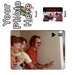 Vegas Cards By Carol Petrich   Playing Cards 54 Designs   20jn9at7yv33   Www Artscow Com Front - Spade8