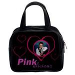 Pinkalicious Heart Handbag - Classic Handbag (Two Sides)