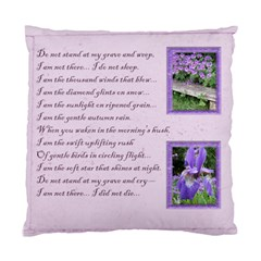 Do Not Stand At My Grave & Weep Cushion By Catvinnat   Standard Cushion Case (two Sides)   Vkqnlo51wlr8   Www Artscow Com Front