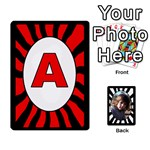 ABC+NUMBERS cards - Playing Cards 54 Designs
