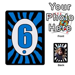 Abc+numbers Cards By Carmensita   Playing Cards 54 Designs   Qblo3v5oj4y2   Www Artscow Com Front - Diamond8