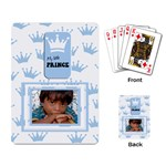 My little prince cards - Playing Cards Single Design