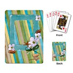 Playing Cards- Tropical, Holiday template - Playing Cards Single Design