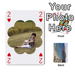 Hi By Yiqi   Playing Cards 54 Designs   0id5xc959ebc   Www Artscow Com Front - Heart2