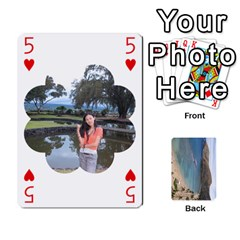 Hi By Yiqi   Playing Cards 54 Designs   0id5xc959ebc   Www Artscow Com Front - Heart5