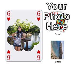 Hi By Yiqi   Playing Cards 54 Designs   0id5xc959ebc   Www Artscow Com Front - Heart6