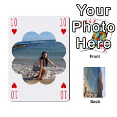 Hi By Yiqi   Playing Cards 54 Designs   0id5xc959ebc   Www Artscow Com Front - Heart10