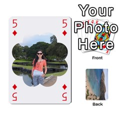 Hi By Yiqi   Playing Cards 54 Designs   0id5xc959ebc   Www Artscow Com Front - Diamond5