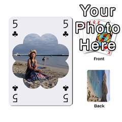Hi By Yiqi   Playing Cards 54 Designs   0id5xc959ebc   Www Artscow Com Front - Spade5