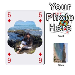 Hi By Yiqi   Playing Cards 54 Designs   0id5xc959ebc   Www Artscow Com Front - Diamond6