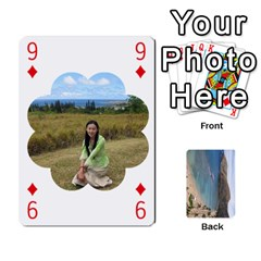 Hi By Yiqi   Playing Cards 54 Designs   0id5xc959ebc   Www Artscow Com Front - Diamond9
