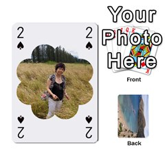 Hi By Yiqi   Playing Cards 54 Designs   0id5xc959ebc   Www Artscow Com Front - Club2