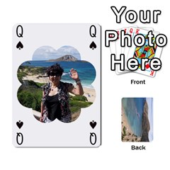 Queen Hi By Yiqi   Playing Cards 54 Designs   0id5xc959ebc   Www Artscow Com Front - ClubQ