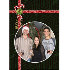 Christmas Card #4 By Lil    Greeting Card 5  X 7    28mz3ga2evsq   Www Artscow Com Front Cover