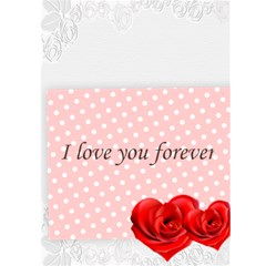 Love You Forever By Wood Johnson   Greeting Card 5  X 7    Pqf7hq8coviu   Www Artscow Com Back Cover