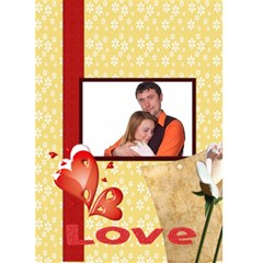 Love You Forever By Wood Johnson   Greeting Card 5  X 7    4fnwwevzrcp9   Www Artscow Com Front Cover