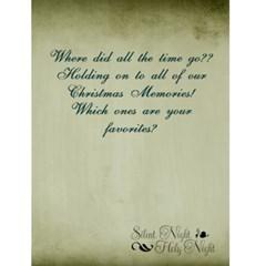 2010 Cyr Family Christmas Card By Nancy   Greeting Card 4 5  X 6    4y08uo3b4vwq   Www Artscow Com Back Inside