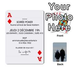 Ace Lesenfants By Emmanuelle   Playing Cards 54 Designs   79uvlf34il03   Www Artscow Com Front - DiamondA