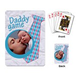 Daddy game - CARDS - Playing Cards Single Design