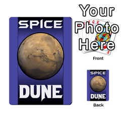 Duna   Spice And Treachery By Monkeyml   Multi Purpose Cards (rectangle)   Xvj9c0n4b5fy   Www Artscow Com Back 7