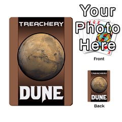 Duna   Spice And Treachery By Monkeyml   Multi Purpose Cards (rectangle)   Xvj9c0n4b5fy   Www Artscow Com Back 44