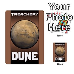 Duna   Spice And Treachery By Monkeyml   Multi Purpose Cards (rectangle)   Xvj9c0n4b5fy   Www Artscow Com Back 45