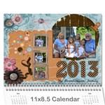 Beanblossom Calander 2011 - Wall Calendar 11  x 8.5  (12-Months)