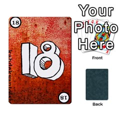 No Thanks335 By Mattias Bj?rnstr?m   Playing Cards 54 Designs   Kkl0d85kb42x   Www Artscow Com Front - Heart6