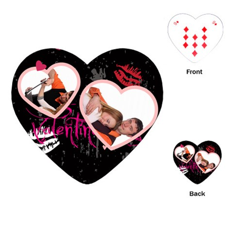 Love Playing Card By Wood Johnson   Playing Cards (heart)   Ts6zzu2in1jk   Www Artscow Com Front