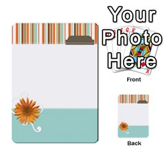 Sweet Blue Matching Game By Spaces For Faces   Multi Purpose Cards (rectangle)   Pco6k5nkjfq6   Www Artscow Com Front 51