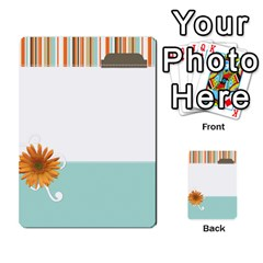 Sweet Blue Matching Game By Spaces For Faces   Multi Purpose Cards (rectangle)   Pco6k5nkjfq6   Www Artscow Com Front 8