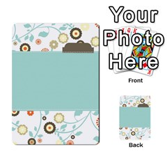 Sweet Blue Matching Game By Spaces For Faces   Multi Purpose Cards (rectangle)   Pco6k5nkjfq6   Www Artscow Com Back 8