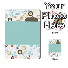 Sweet Blue Matching Game By Spaces For Faces   Multi Purpose Cards (rectangle)   Pco6k5nkjfq6   Www Artscow Com Back 9