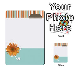 Sweet Blue Matching Game By Spaces For Faces   Multi Purpose Cards (rectangle)   Pco6k5nkjfq6   Www Artscow Com Front 22