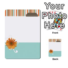 Sweet Blue Matching Game By Spaces For Faces   Multi Purpose Cards (rectangle)   Pco6k5nkjfq6   Www Artscow Com Front 23