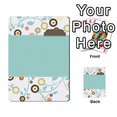 Sweet Blue Matching Game By Spaces For Faces   Multi Purpose Cards (rectangle)   Pco6k5nkjfq6   Www Artscow Com Back 3