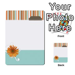 Sweet Blue Matching Game By Spaces For Faces   Multi Purpose Cards (rectangle)   Pco6k5nkjfq6   Www Artscow Com Front 28