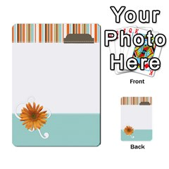 Sweet Blue Matching Game By Spaces For Faces   Multi Purpose Cards (rectangle)   Pco6k5nkjfq6   Www Artscow Com Front 30