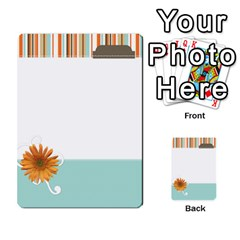 Sweet Blue Matching Game By Spaces For Faces   Multi Purpose Cards (rectangle)   Pco6k5nkjfq6   Www Artscow Com Front 31
