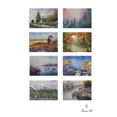 Card1 By Hannah   Greeting Card 5  X 7    V3rkuktza3ty   Www Artscow Com Back Cover