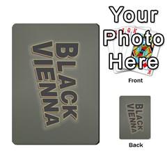 2010 Black Vienna 1 By Steve Sisk   Multi Purpose Cards (rectangle)   Lmrv927n8jdo   Www Artscow Com Back 12