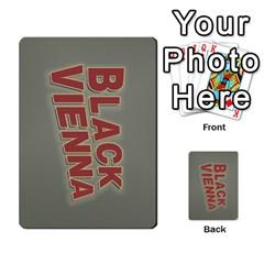 2010 Black Vienna 1 By Steve Sisk   Multi Purpose Cards (rectangle)   Lmrv927n8jdo   Www Artscow Com Back 34