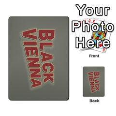 2010 Black Vienna 1 By Steve Sisk   Multi Purpose Cards (rectangle)   Lmrv927n8jdo   Www Artscow Com Back 47