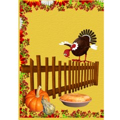 Thanksgiving2 By Snackpackgu   Greeting Card 5  X 7    Iwhtsxfsc7b4   Www Artscow Com Front Inside