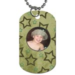 Uncle - Dog Tag (One Side)