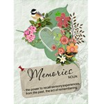 Memories Card - Greeting Card 5  x 7