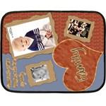fleece blanket family template - Fleece Blanket (Mini)